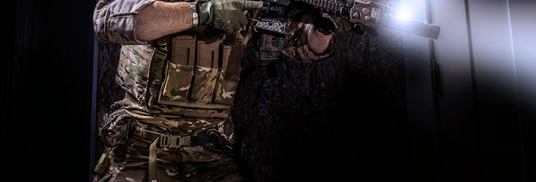 Tactical MOLLE Belt With Medical Supplies