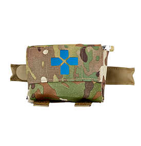 Micro Trauma Kit NOW! in multicam with blue reflector