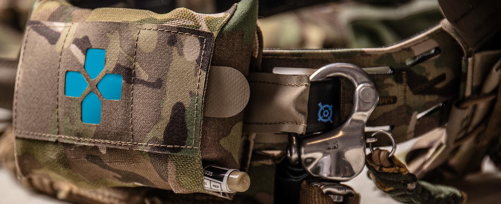 Micro Trauma Kit on CHLK Belt