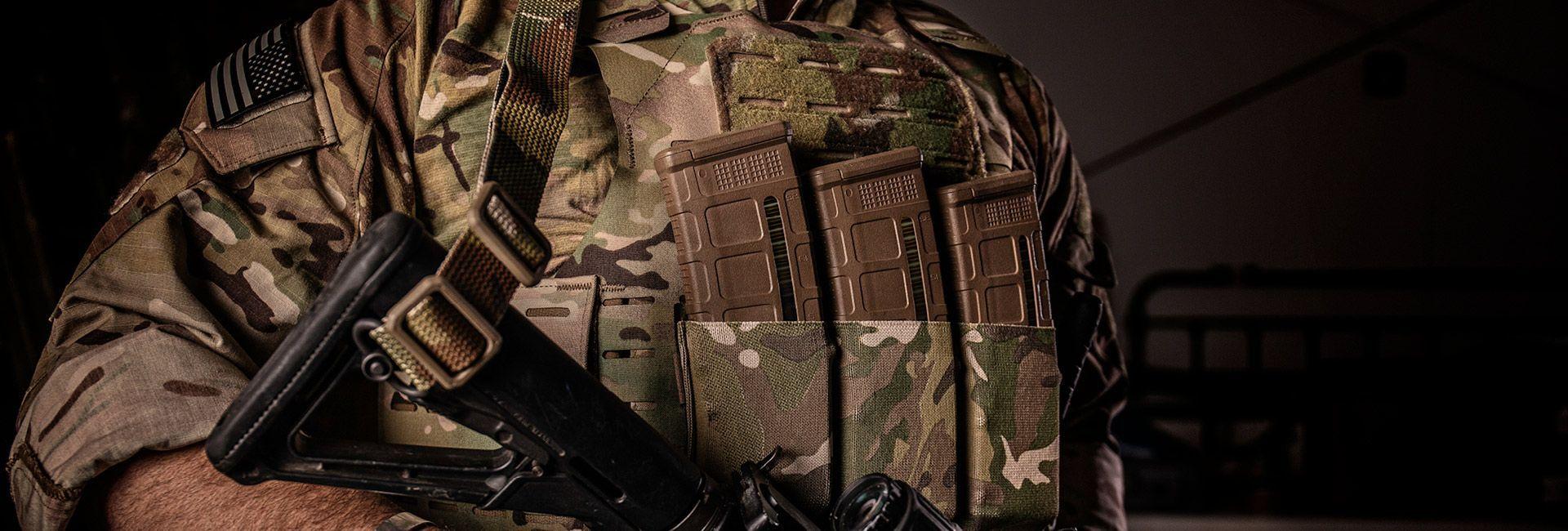 Ranger wearing Plate Armor
