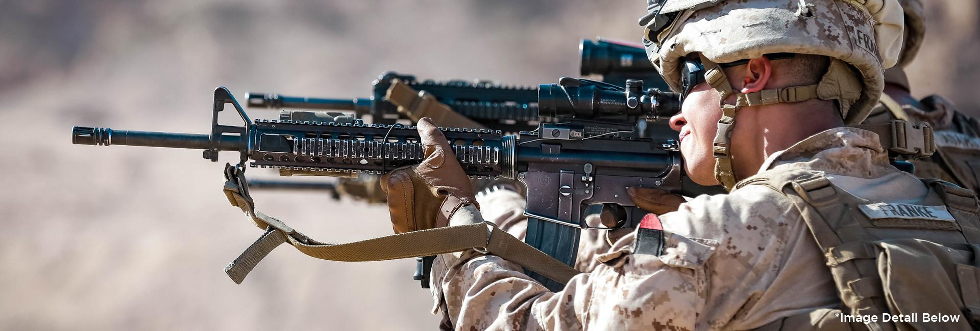 Marine Firing M4
