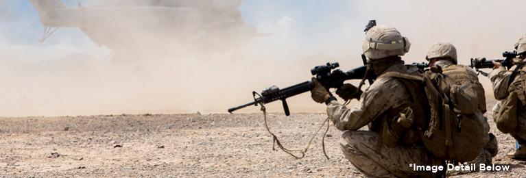 Marines Desert Chopper